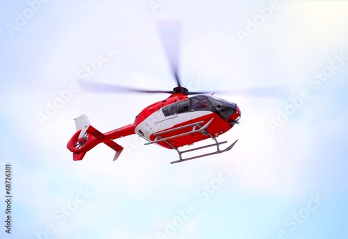 Staande foto Helicopter Air Ambulance Copter