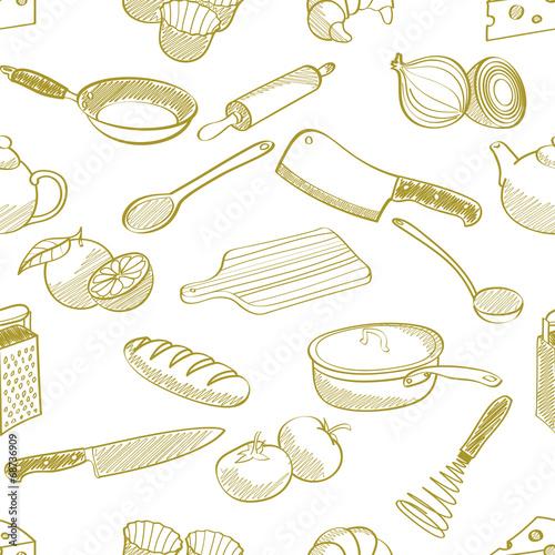 seamless-kitchen-stuff-pattern