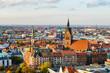 Leinwanddruck Bild - Marktkirche und Zentrum von Hannover, Deutschland