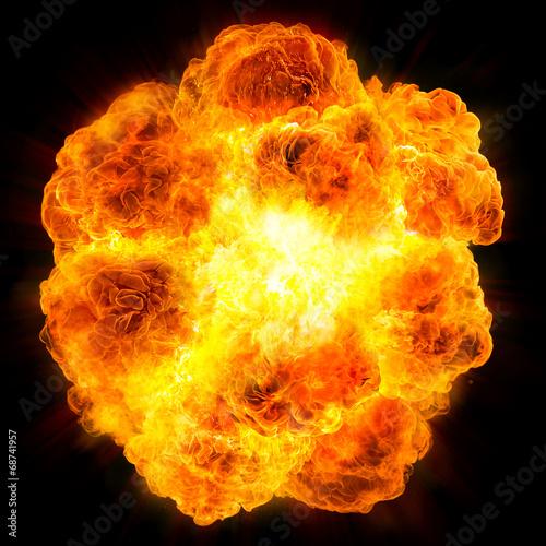 Foto fireball: explosion