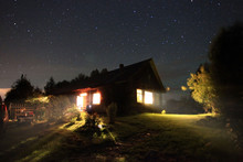 Night Landscape In The Country...