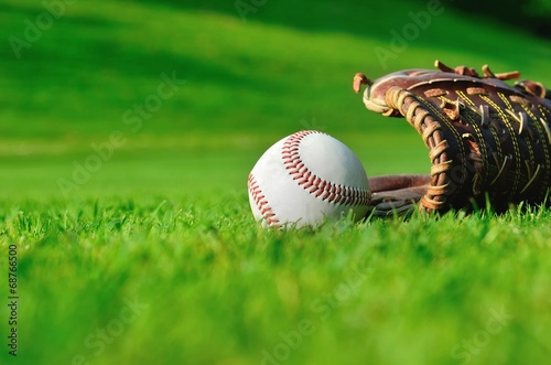Outdoor baseball Wallpaper Mural