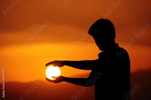 Güneşe sevgi