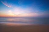 Wschód słońca na plaży