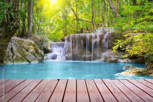 Photo sur Aluminium Cascades waterfall