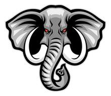 Elephant Head Mascot