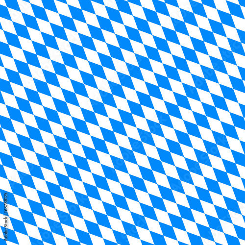 Muster Bayern quer - Oktoberfest Billede på lærred