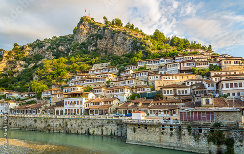 Photo View at old city of Berat