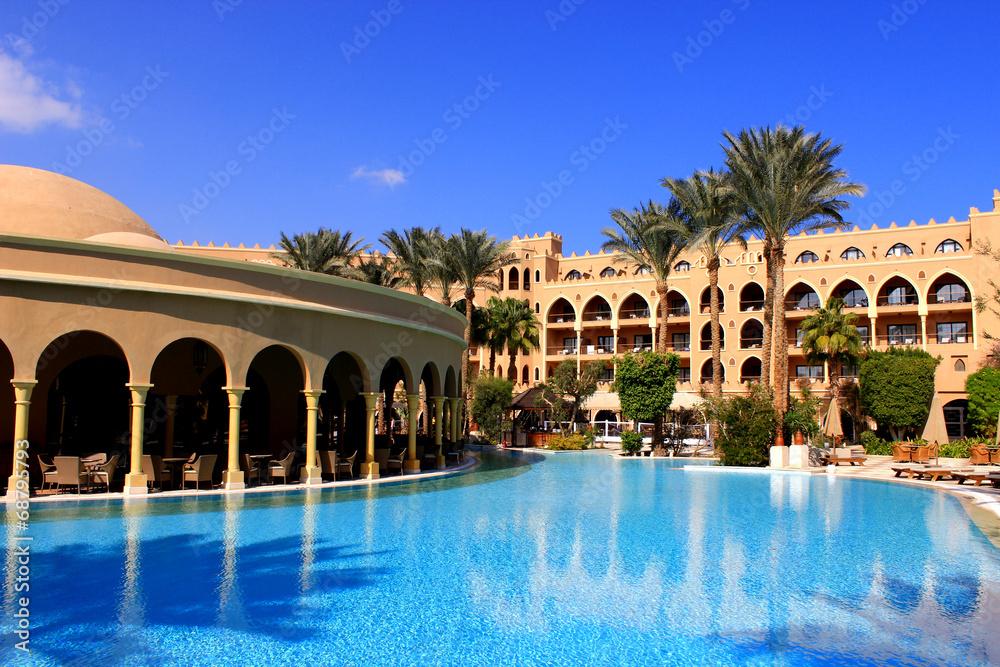 Fototapeta Ägypten - Makadi - Hotel