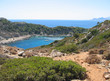 Small beautiful bay and the beautiful beaches of Rhodes.
