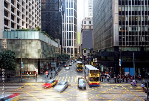 Fotografie, Obraz hong kong finance district