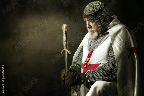 Photo  Templar knight