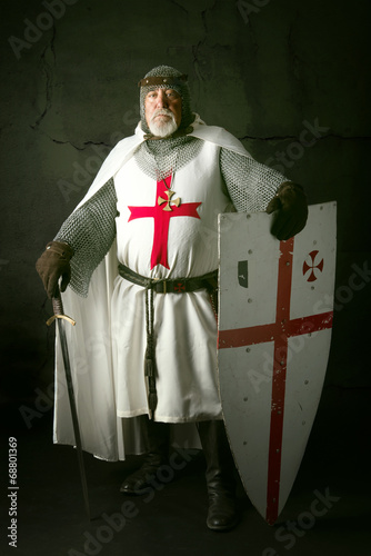 Fotografie, Obraz knight Templar