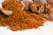Ground Nutmeg Closeup