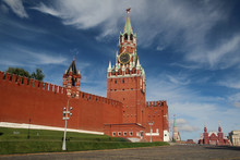 The Spasskaya Tower, Moscow