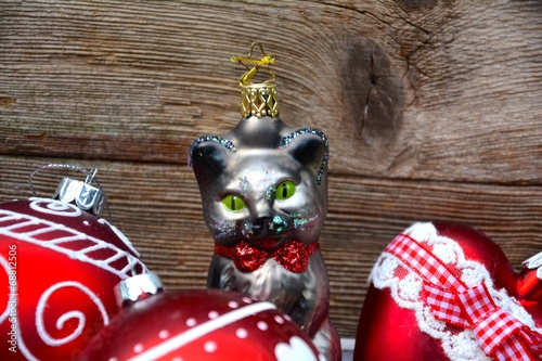 Christbaumschmuck Katze Buy This Stock Photo And Explore Similar