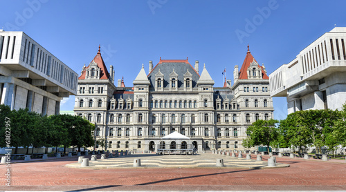 New York State Capitol Building, Albany Tablou Canvas