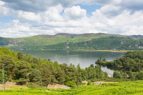 Fotografie, Obraz  Brandelhow Bay Derwent water Lake District Cumbria England UK