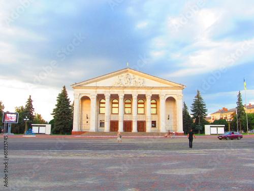 In de dag Theater Театр им. Шевченка