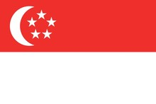 Illustration Of The Flag Of Si...