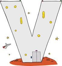 Isolated V Mars Base