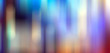 canvas print picture - bokeh city lights blurred background effect
