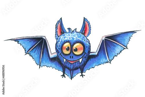 Fotobehang Draw Hand drawn Halloween illustration set.