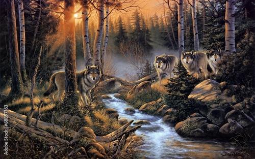 Стая волков - 68897163
