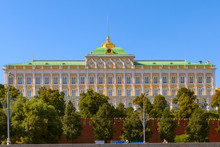 The Grand Kremlin Palace, Moscow, Russia
