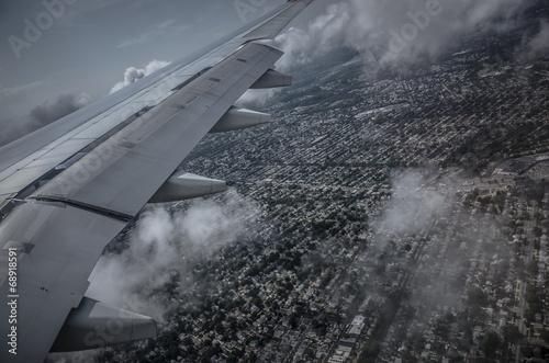 Landing Fototapet