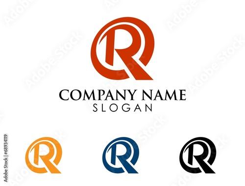 Photo  R letter logo 1