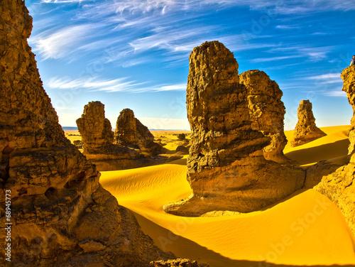 Poster Algérie Sahara Desert, Algeria