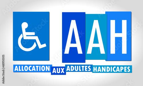 Allocation Adultes Handicapés Canvas Print