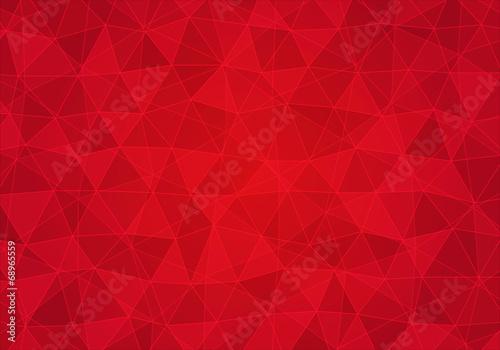 Obraz Tło z czerwonymi trójkątami - fototapety do salonu
