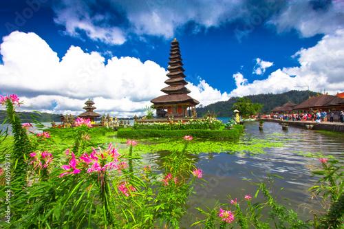 Tuinposter Bali Pura Ulun Danu temple ,Bali Indonesia