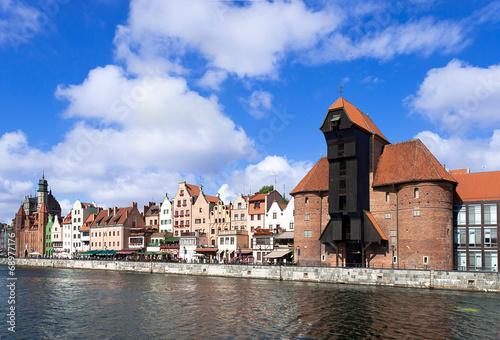 Gdansk old city, Poland © kilhan