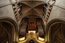 Church Organ In Side Of Notre-...