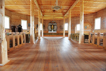 Hall Of Wooden Church