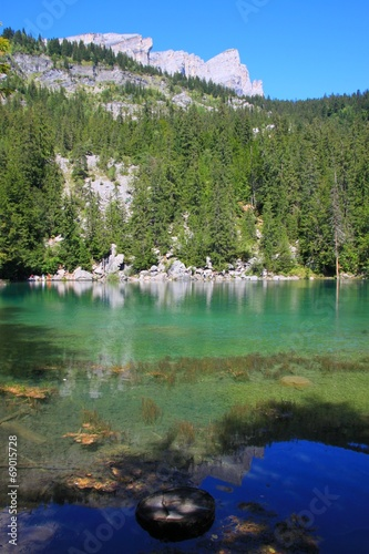 Photo Stands Le Lac Vert, Passy