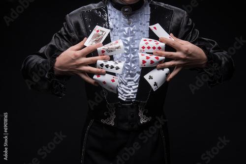 Fotomural Consummate mastery of magician