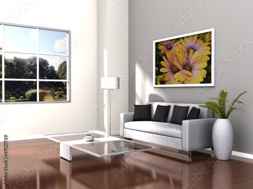 Fotografia, Obraz  Living room