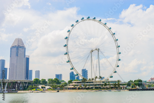Photo  Singapore flyer