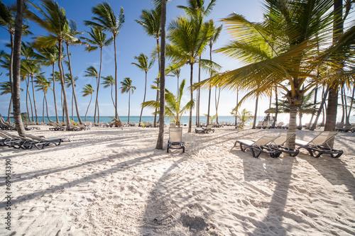 Foto op Plexiglas Caraïben Caribbean Beach