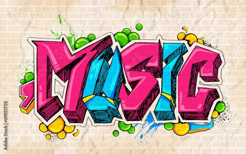 graffiti-style-muzyka-backgroun