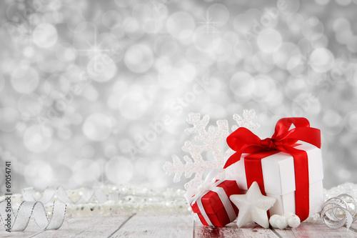 Fotografía  Fondo de la Navidad