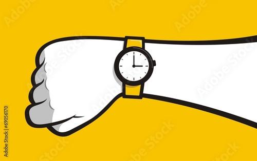 Hand watch фототапет