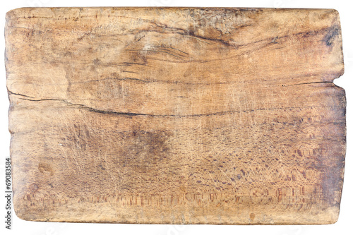 Poster Metal Old, vintage, wooden, chopping board