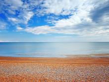 Beach View In Hastings,UK