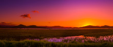 Sunset-australian Outback