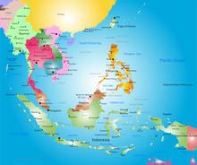 Southeast Asia Map